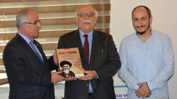 Minister Avcı attends awards ceremony of Turkic World Foundation Logo Competition