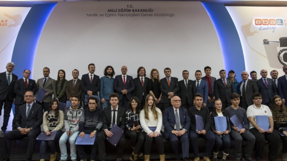 Minister Avcı presents EBA Frame Photography Contest awards